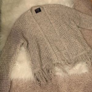 Abercrombie and Fitch Fringe Sweater
